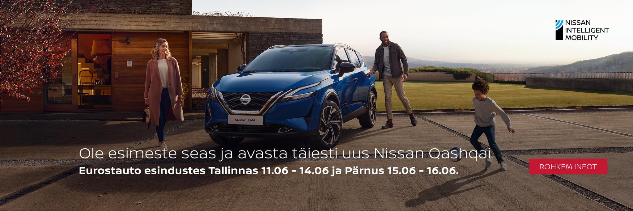 Nissan Qashqai esitlus