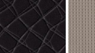 Tekstil, moodne must / hall