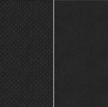 Musta värvi Kunstnahk ja tekstiil