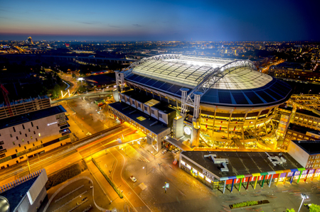 Euroopa suurim energiasalvestussüsteem varustab staadionit Johan Cruijff Arena elektriga