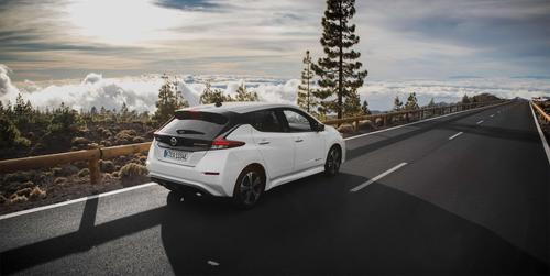 Nissan LEAF on Euroopas enim müüdav elektriauto