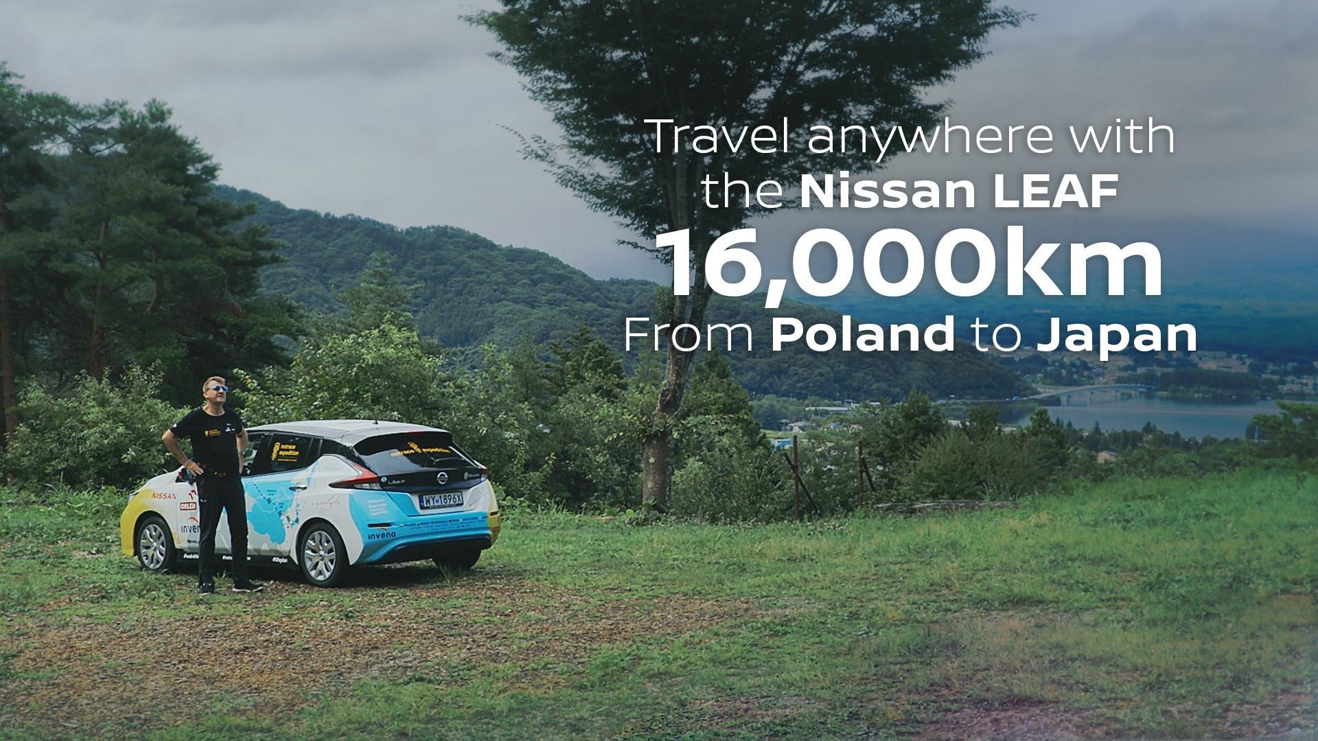 Maadeavastaja jõudis uue Nissan LEAFiga kontinentidevahelisel seiklusel 16 000 kilomeetri verstapostini