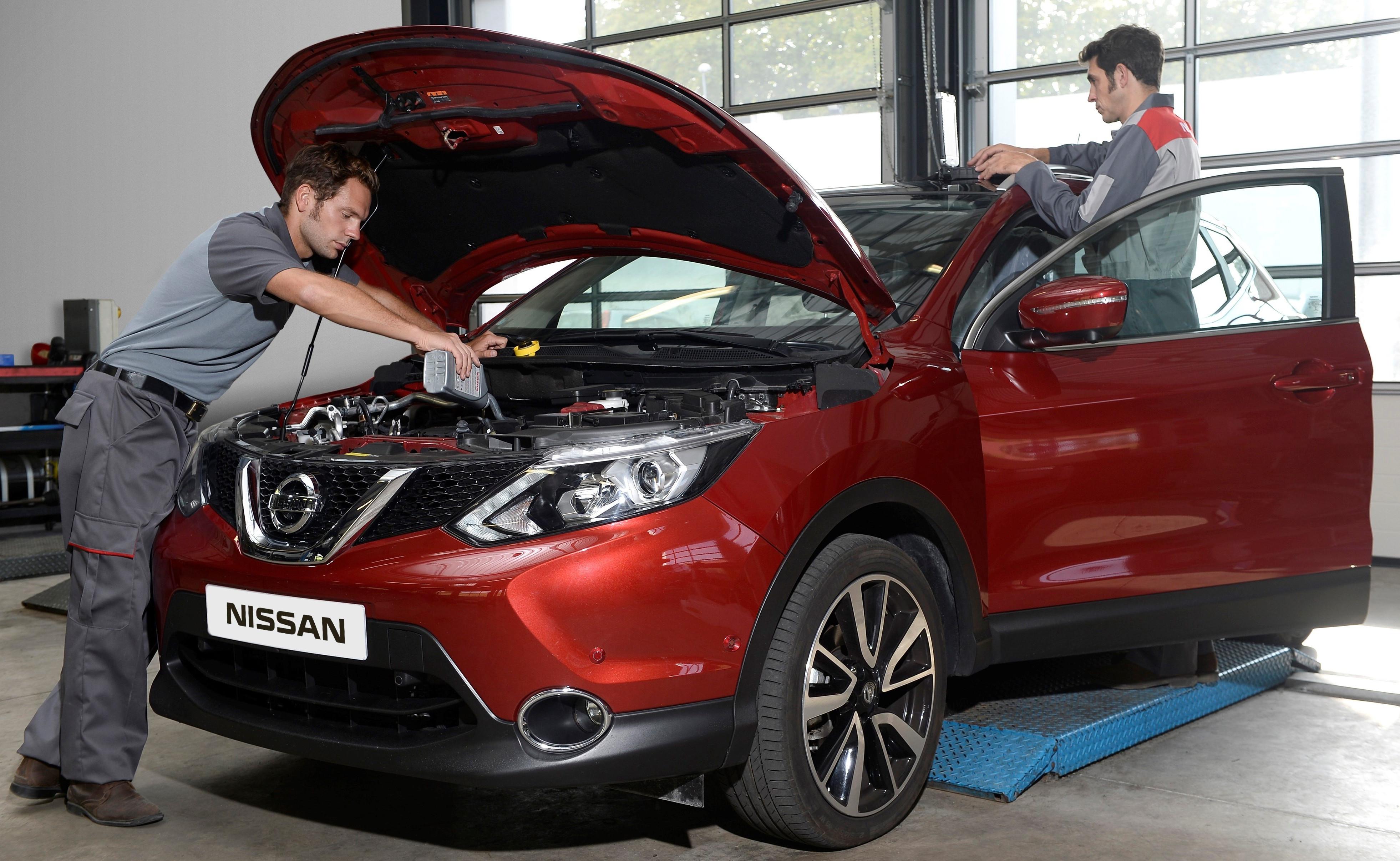 Nissani 5-aastastele ja vanematele sõidukitele mõeldud järelturunduse programmide edasine laiendamine