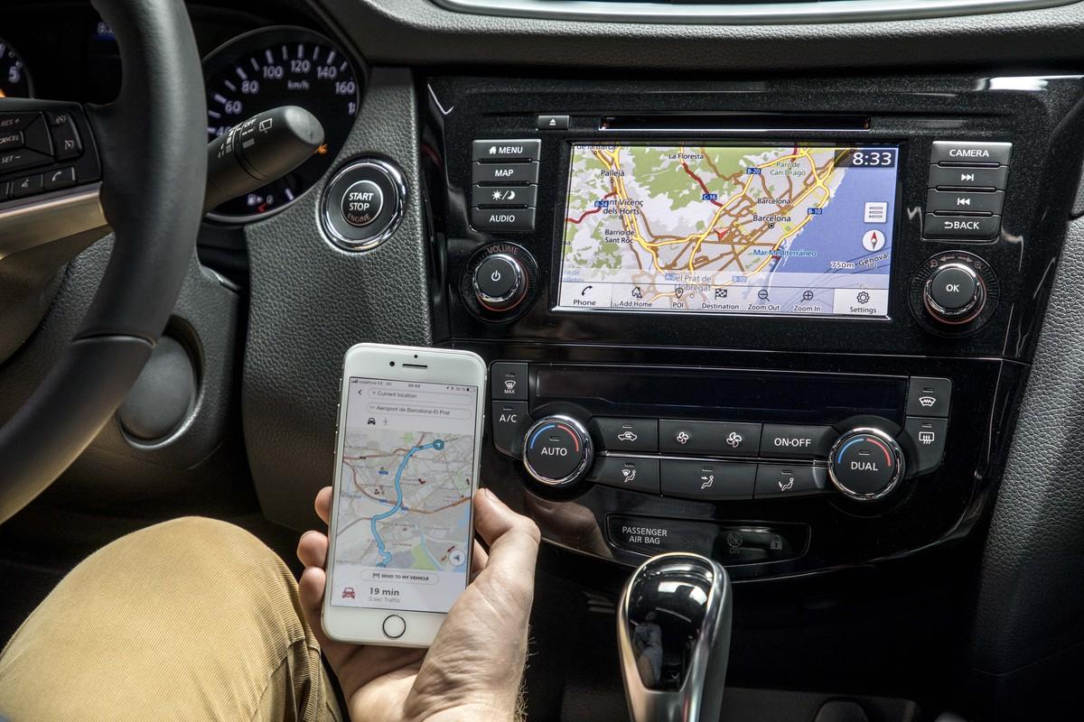 Nissan Qashqai crossover'is on nüüd saadaval uus teabe- ja meelelahutussüsteem NissanConnect