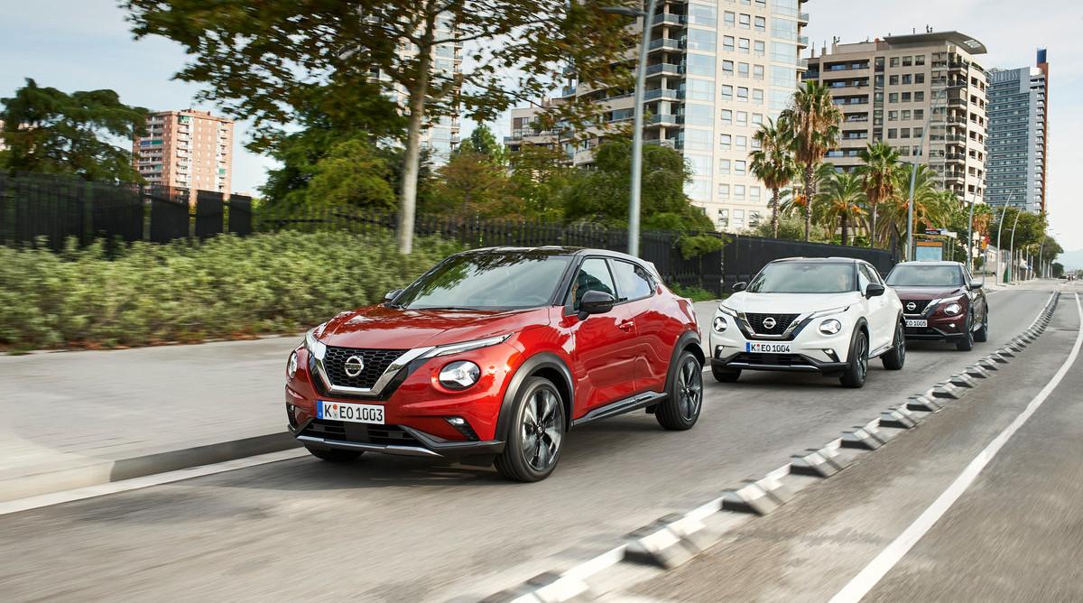 Uus Nissan JUKE jõudis Barcelona teedele