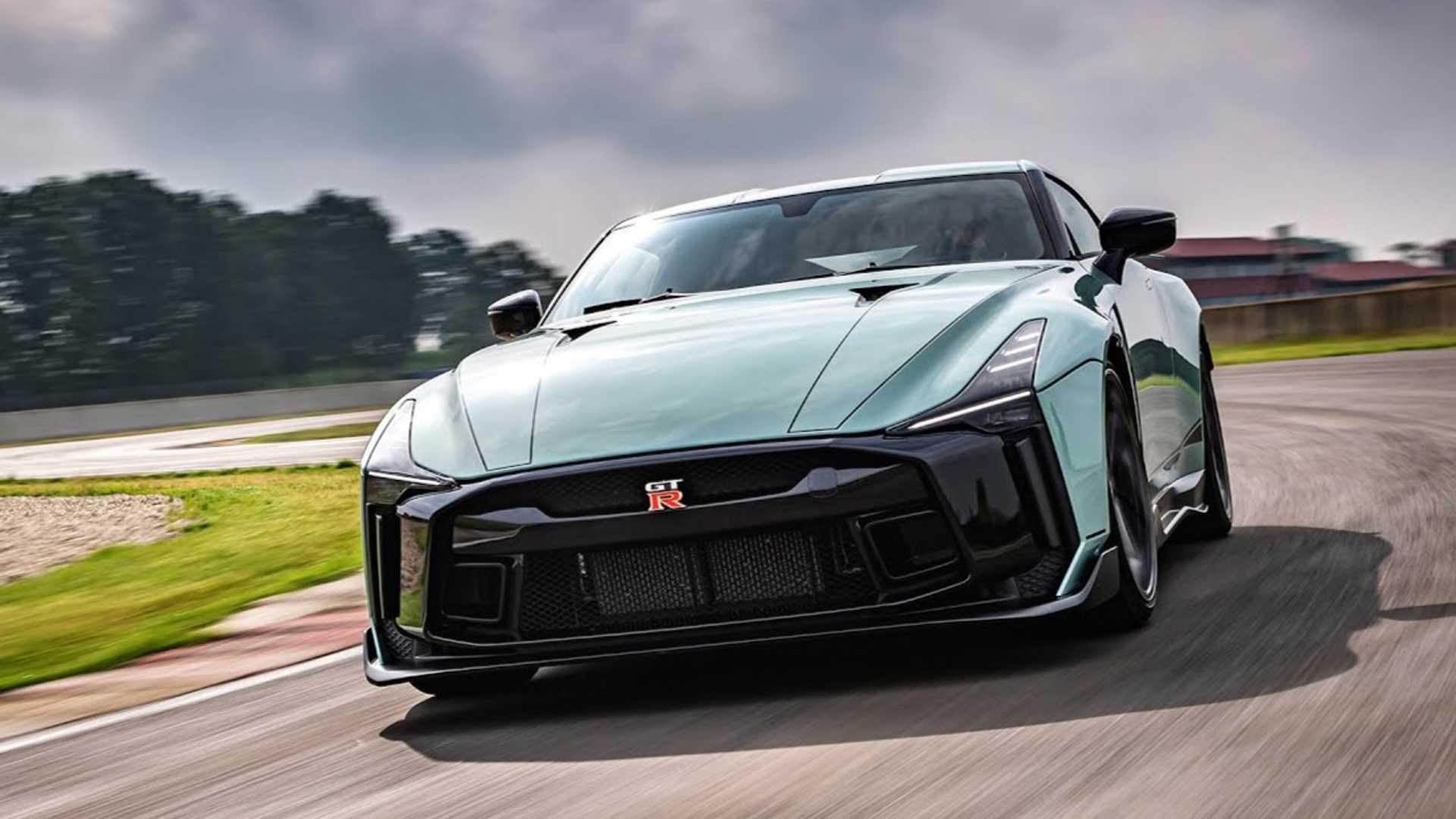 Uus Nissan GT-R tuleb ning ei olegi hübriid
