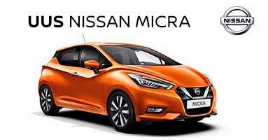 Täiesti uus Nissan Micra